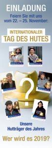 Wer wird Hutträger des Jahres 2019?